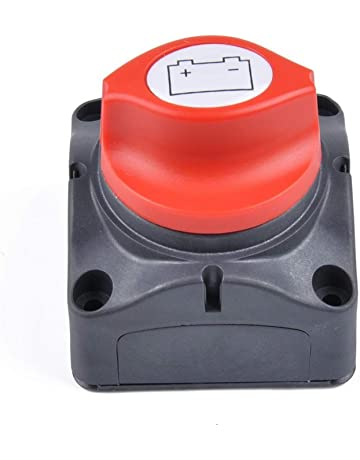 Homyl 2 Packs of 400A Battery Disconnect Switches for Auto Marine Boat