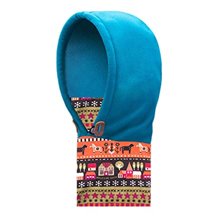 ffc8f457fdf AONIJIE Winter Children Kids Thick Warm Thermal Hat Windproof Caps Scarf Face  Mask for Hiking