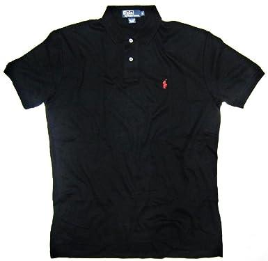 07a8afb95b8f Polo Ralph Lauren Men s Interlock Polo Shirt in Black