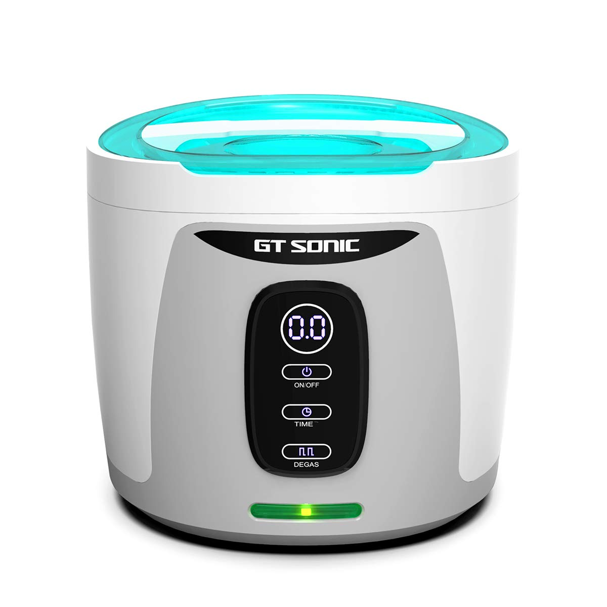 GTSONIC Ultrasonic Cleaner Jewelry Glasses Dentures Professional Detachable Cleaning Machine, 4 Timer Cycles Auto-Off, 26 OZ, 35 W by GTSONIC