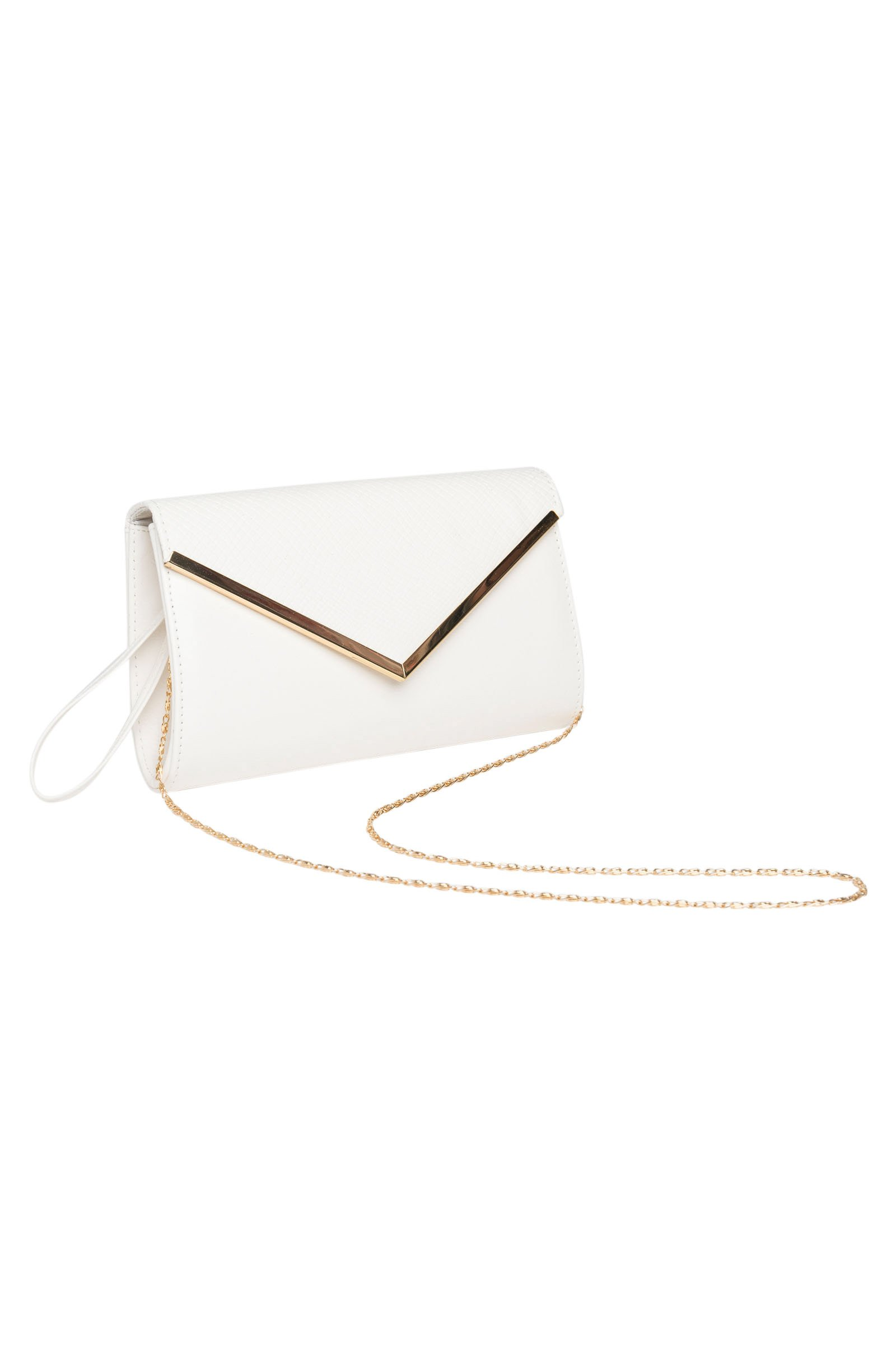 Ardene - Women's - Clutches - Faux Leather Envelope Clutch O/S -(8A-WL00107)