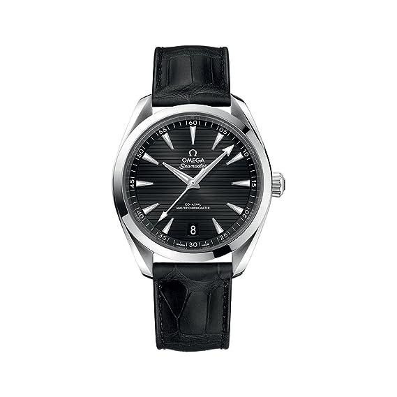 Omega Seamaster Aqua Terra - Reloj automático para hombre, esfera negra 220.13.41.21.01.001: Amazon.es: Relojes