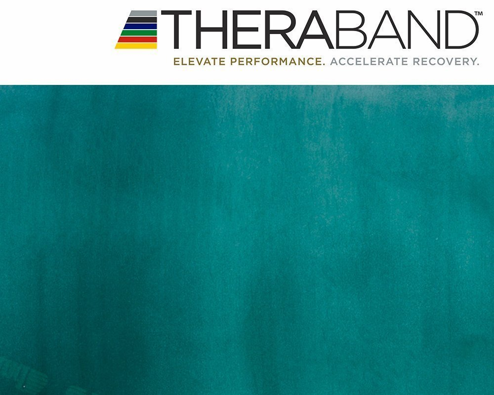 Thera-Band Exercise Resistance Band 2m Green