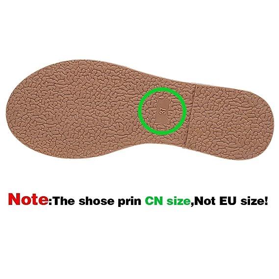 Botines para Mujer,ZARLLE Mujer Botas Zapatos De OtoñO Invierno Botines De TacóN CláSico Hebilla De CinturóN Botas Altura Aumentando Zapatos: Amazon.es: ...