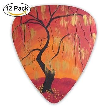 WVKSGP Púas de Guitarra Personalizadas para Pintura al Óleo, 12 Unidades para Instrumentos Musicales: Amazon.es: Bricolaje y herramientas