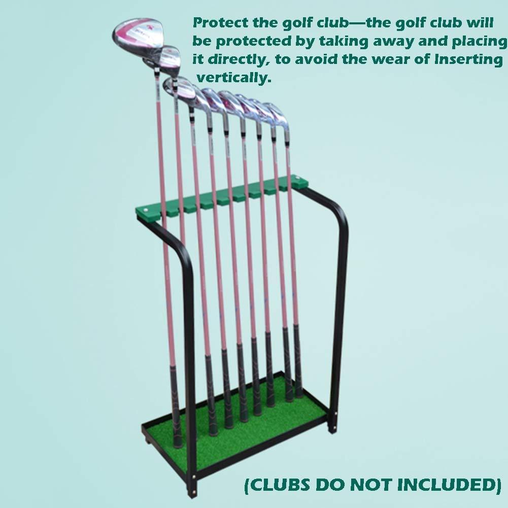 Alfombra de práctica para Golf Soporte Para Palos De 9 ...