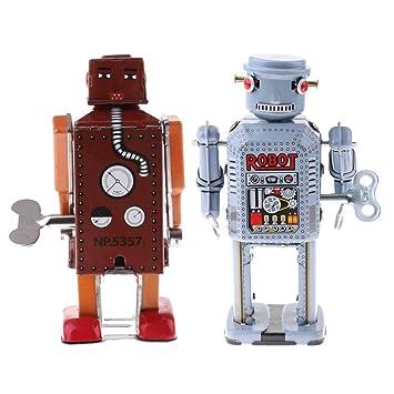 Blesiya 2 Unids Juguete Decorativo de Modelo de Robot de Mecanismo ...