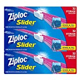 #6: Ziploc Gallon Slider Storage Bags, 96 Count