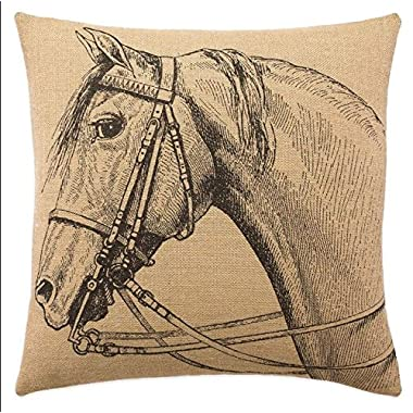 Lady Antebellum's Heartland Delta Queen Horse Accent Pillow