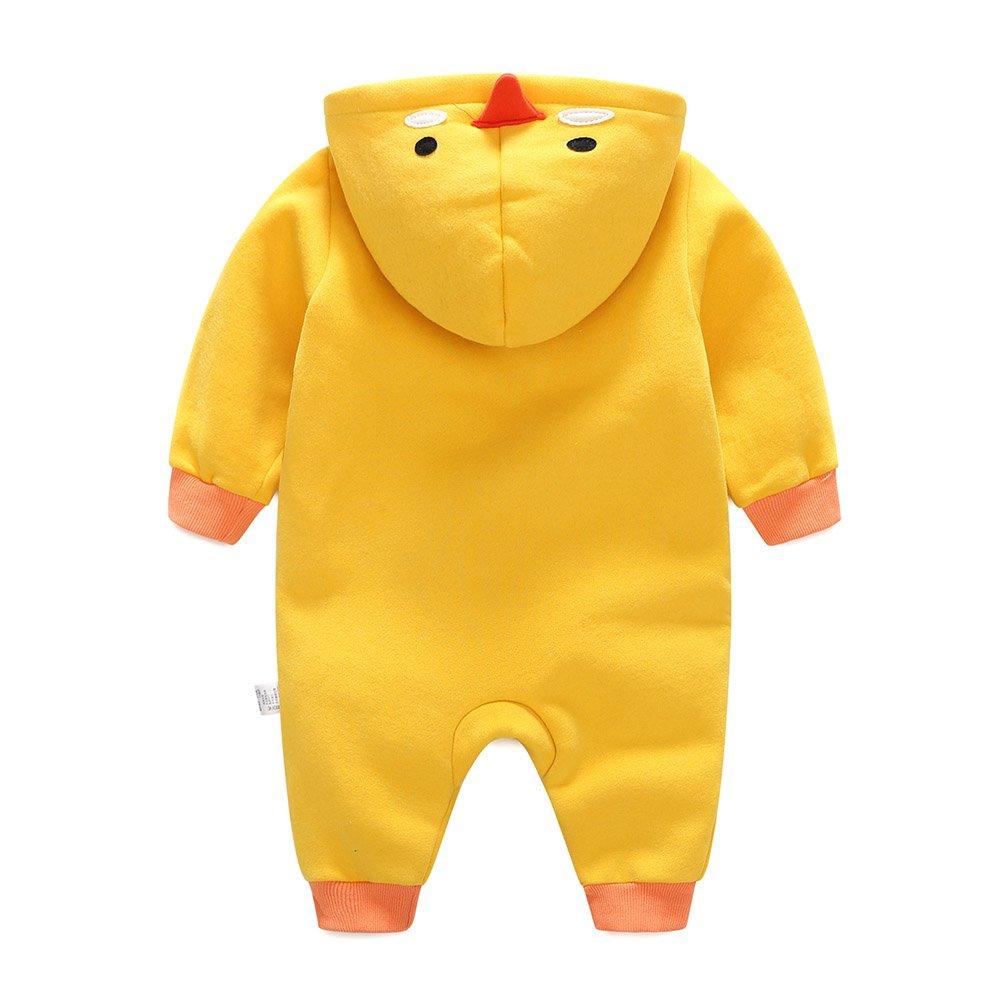 Unisex Mameluco Pijamas de algodón para niños Chica Chico Pijamas de Animales Suaves y cómodos Tigre/Pato / pingüino 0-12 Meses: Amazon.es: Ropa y ...