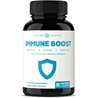 Immune Boost Support Supplement - Powerful Multi System Defense Booster Pills with...