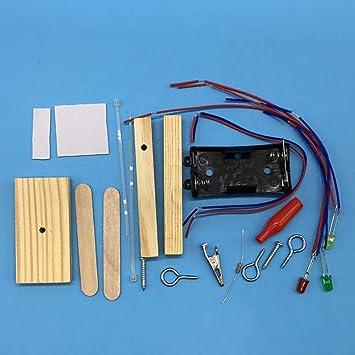 FJ Kids Traffic Light Electronic Building Stem Education Science Experiment Toy