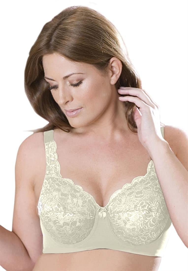 98f254b35 Elila Stretch Lace Underwire Bra 2709 at Amazon Women s Clothing store