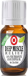 Healing Solutions Deep Muscle Relief Essential Oil