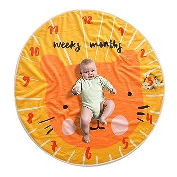 LY-LD Baby hito mensual Manta recién Nacido mensual Personalizada ...