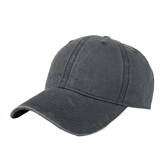 ec404e5231e WOCACHI Hats And Caps Basic Classic Baseball Hat for Women Men  Amazon.ca   Clothing   Accessories