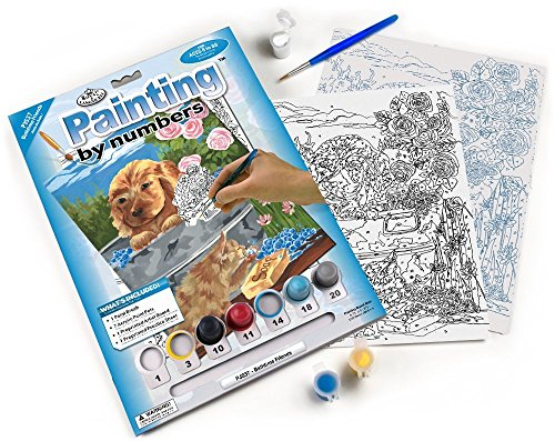 Royal & Langnickel Painting by Numbers Junior Small Art Activity Kit, Bathtime Friends by Royal & Langnickel
