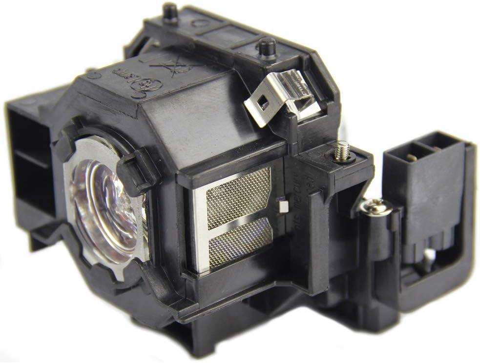 CTBAIER ELP42 for EPSON ELPLP42 powerLite Home Cinema EMP-X56 280 400 400W 822 822H 83 83C 83H 400WE 822P 83E 410W 410W 83HE 410WE EX9 83+ V13H010L42 Replacement Projector Lamp Bulb