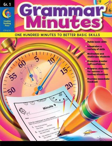 Grammar Minutes, Gr. 1 -