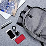 Wekine Slim Travel Laptop Backpack Business Anti Theft Computer Bag with USB Charging Port Headphone Hole,Water Resistant Large College Backpack for Students Fits 15.6 in Laptop Notebook MacBook