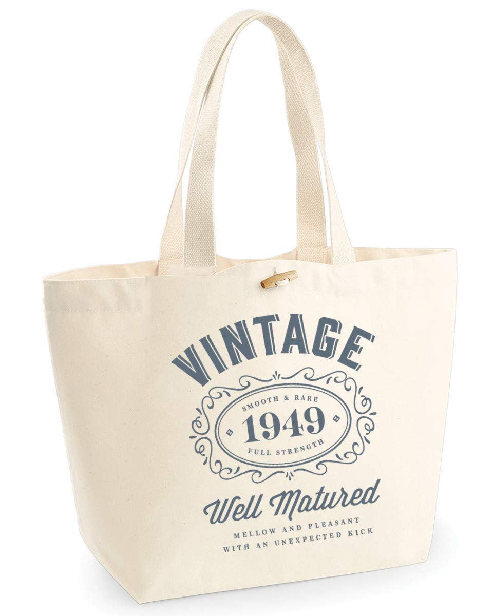 70th Birthday 1949 Keepsake Funny Gift Gifts For Women Novelty Ladies Female Looking Good Shopping Bag