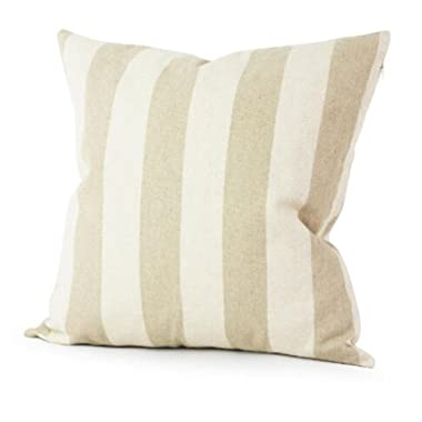 Highpot Simple Striped Home Body Pillowcases, Simpel Style Design A Variety of Striped Square Plush Cover Cushion (2F)