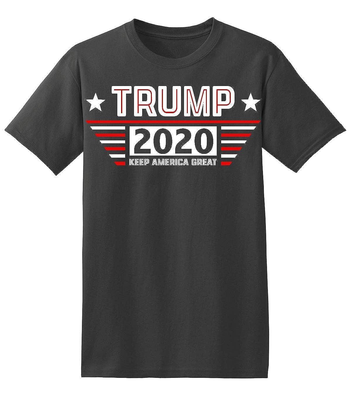 Elephield Trump 2020 Keep America Great Retro Style Men S Shirts