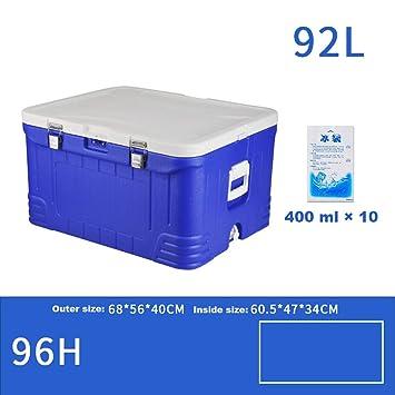 LJ Refrigerador-refrigerador para autos Caja de 92 l Congelador ...