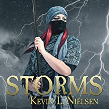 Storms: Sharani Series, Book 2 Audiobook by Kevin L. Nielsen Narrated by Tanya Eby