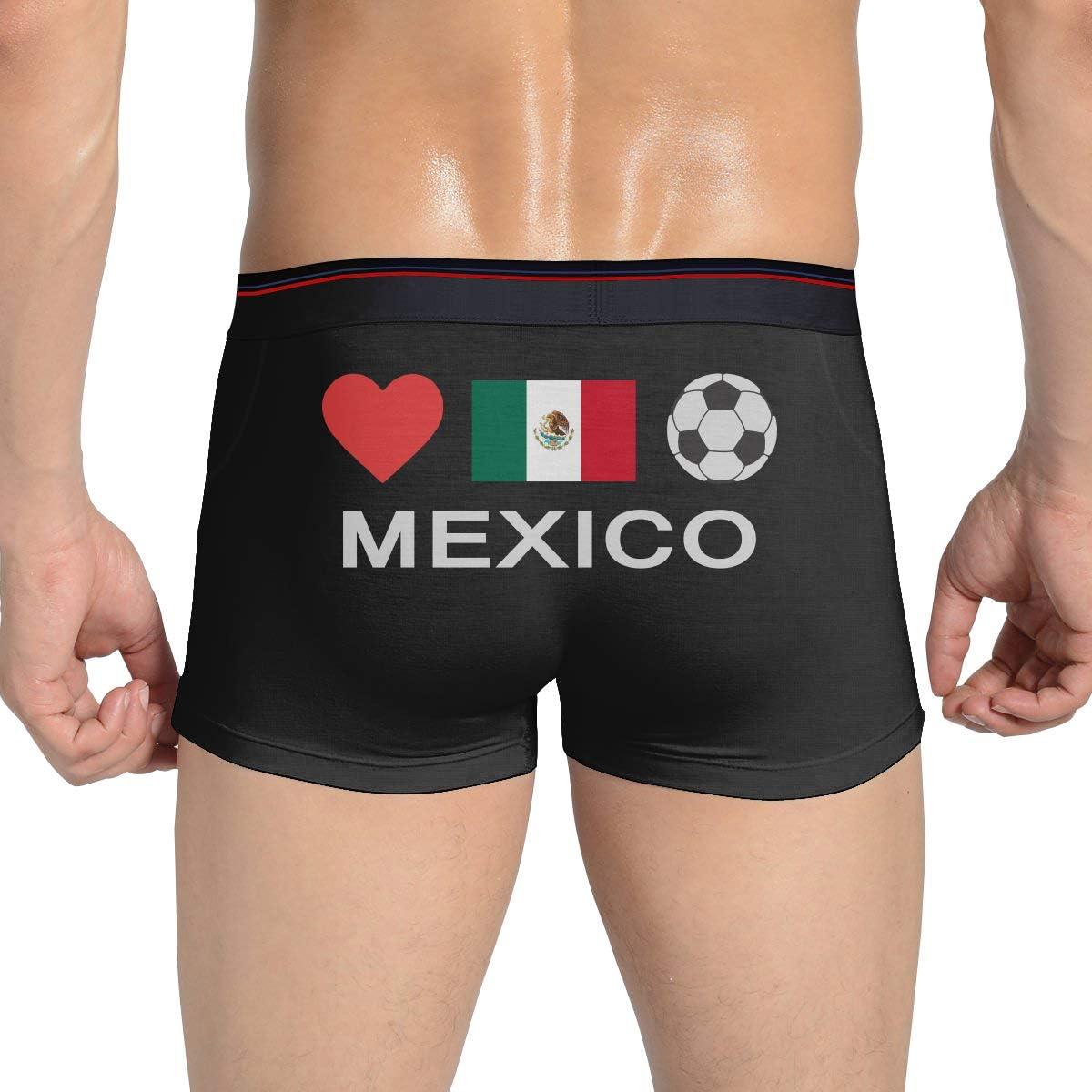BUNO9H4 Make America Mexico Again Mens Cotton Underwear Shorts Underpants Briefs Underpants