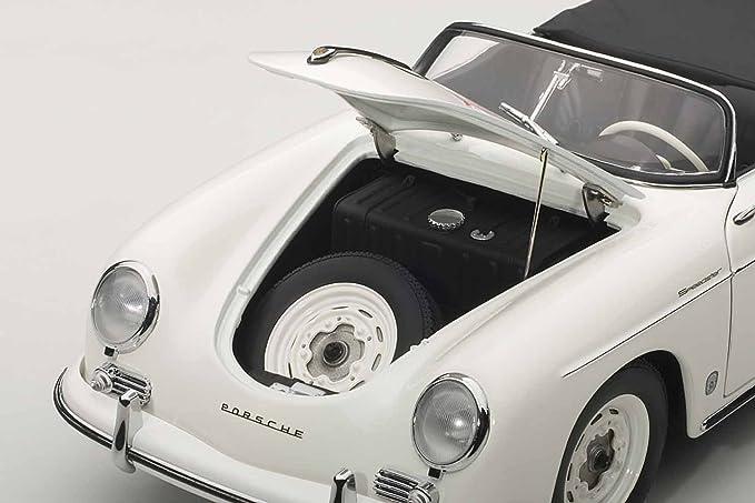 1:18 Autoart Porsche 356 a Speedster #23f James Dean 1955 White