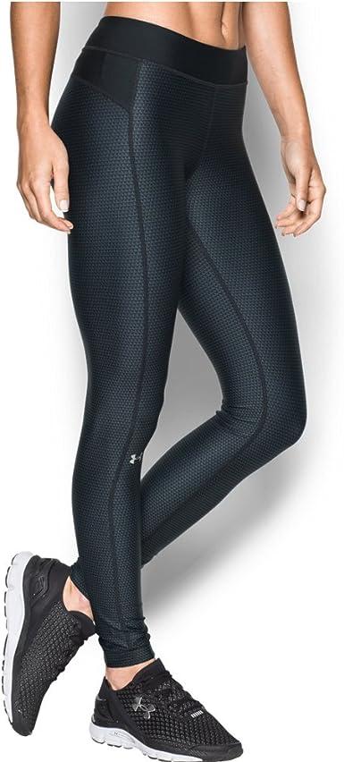 Dolor Por lo tanto Converger  Amazon.com: Under Armour, calza estampada HeatGear, mujer, estampada:  Clothing