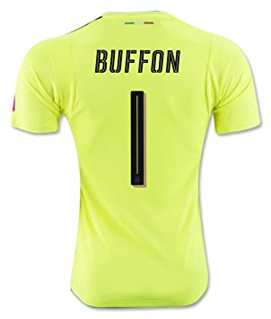 2016 Italia portero 1 Buffon de la personalizada verde camiseta de fútbol Jersey tamaño m