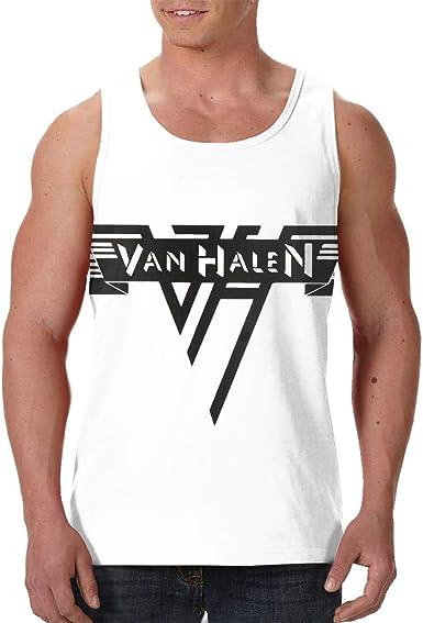Van Halen Logo Tank Top Men Athletic Vest Rock Band Shirt