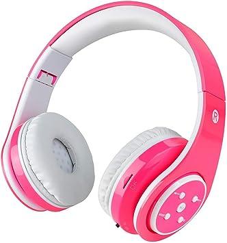 Auriculares inalámbricos Bluetooth para niños Volumen que limita ...