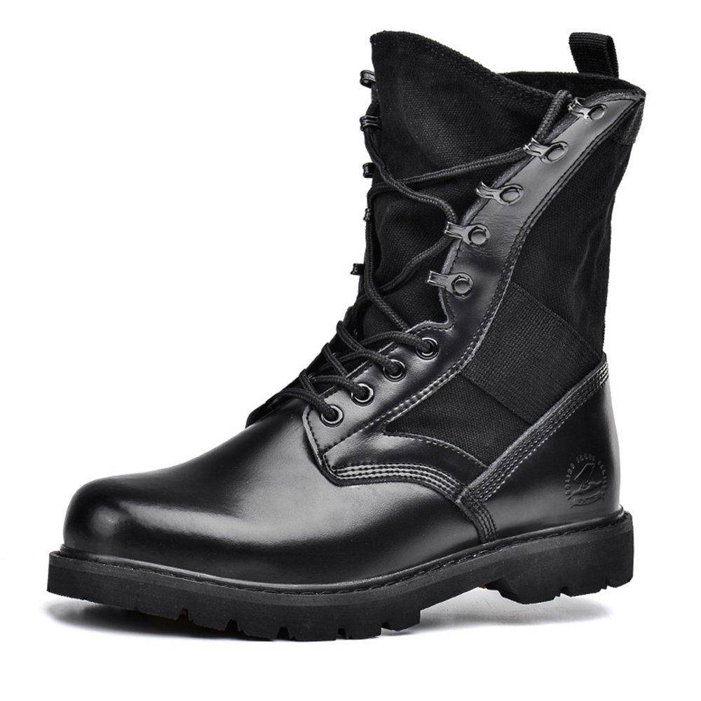 Women's Black Military Combat Boots Waterproof Industrial Work Boots