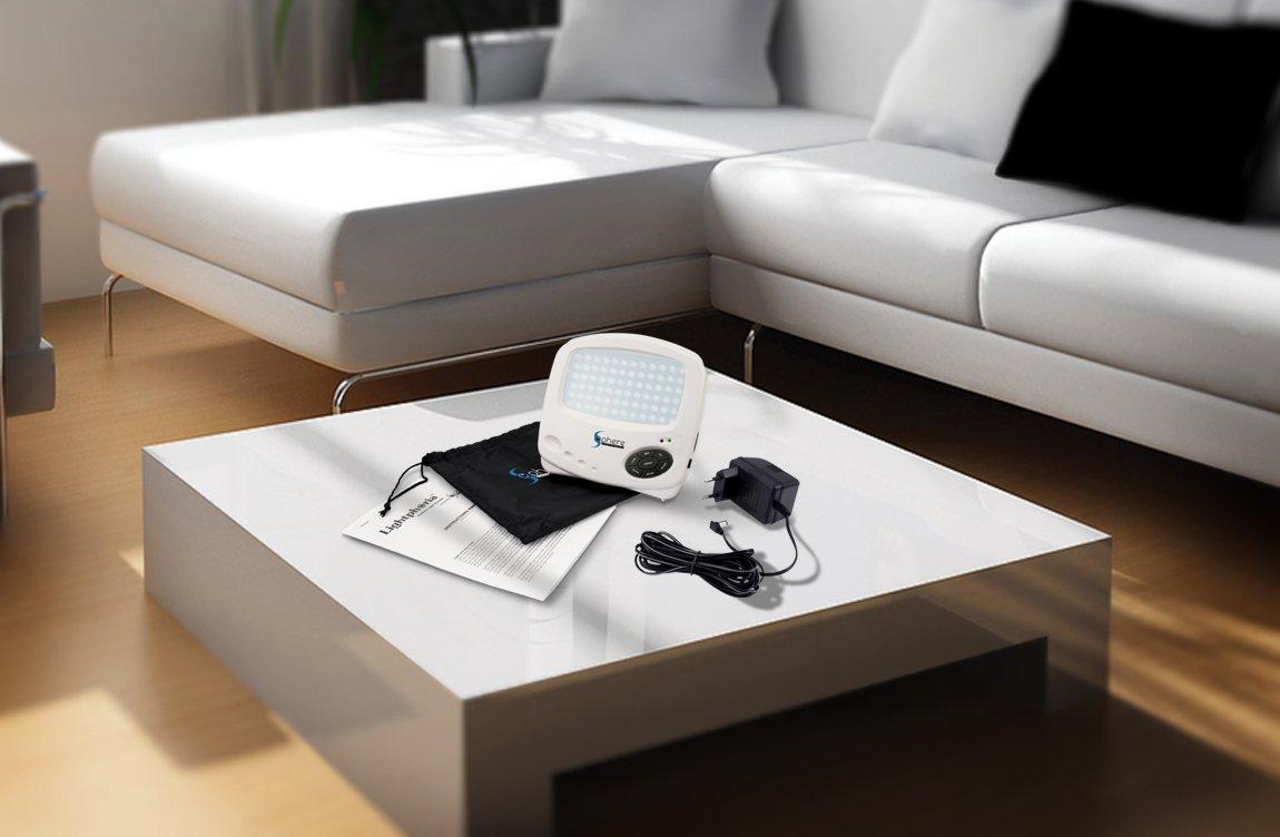 Amazon: Sphere Gadget Technologies Lightphoria, 10,000 Lux Energy Light  Lamp: Health & Personal Care