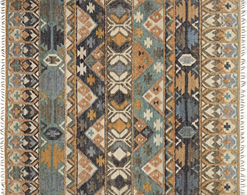 Loloi Rugs, Owen Collection - Ocean / Camel Area Rug, 5' x 7'-6