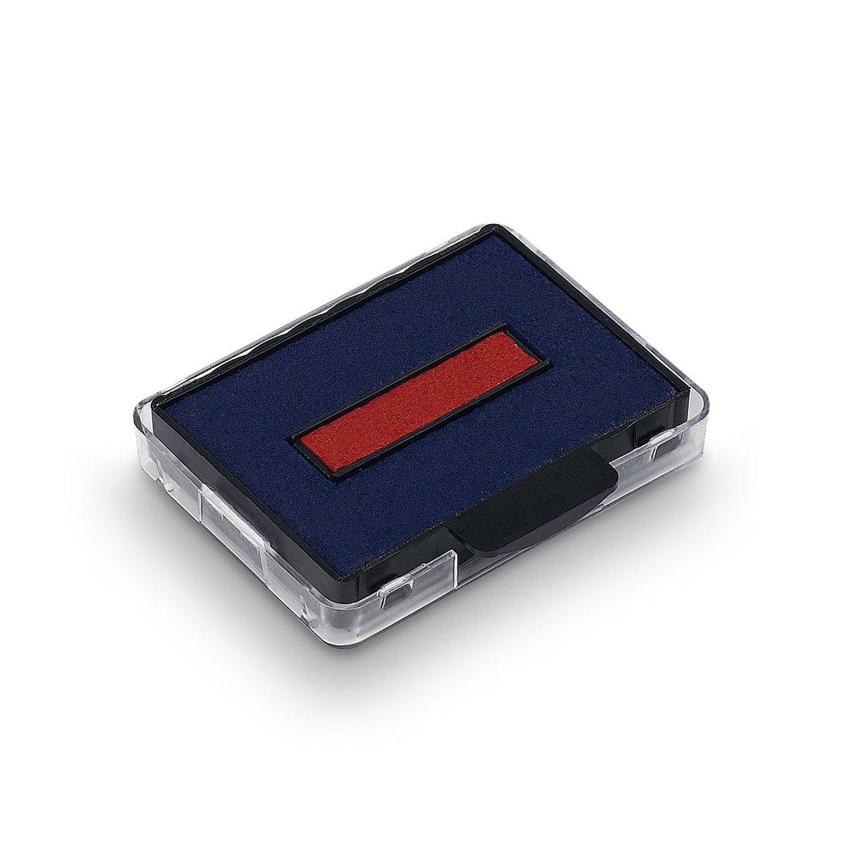 blau//rot Trodat 6-50//2DB Ersatzkissen Swop Pad f/ür 5430 und 5435 Inh.2