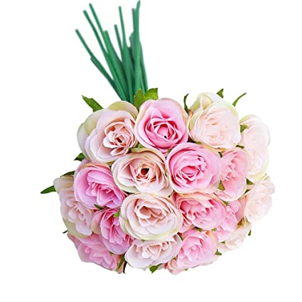 Amazon Artificial Fake Flowers Bulk20pcs Artificial Decor