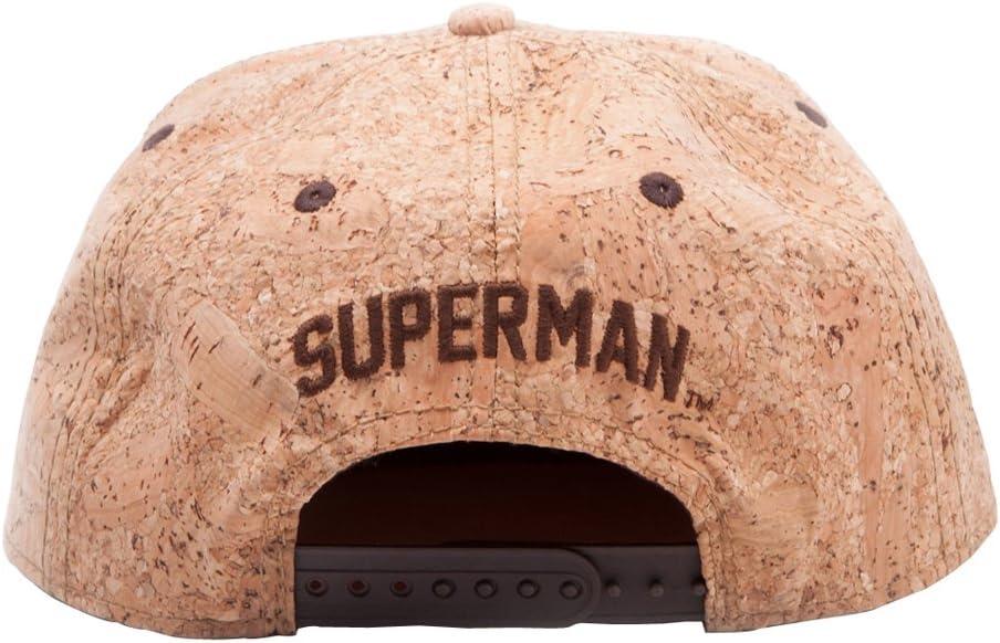 Superman SB1206SPM - Gorra de Corcho con el Logotipo, 50% de ...
