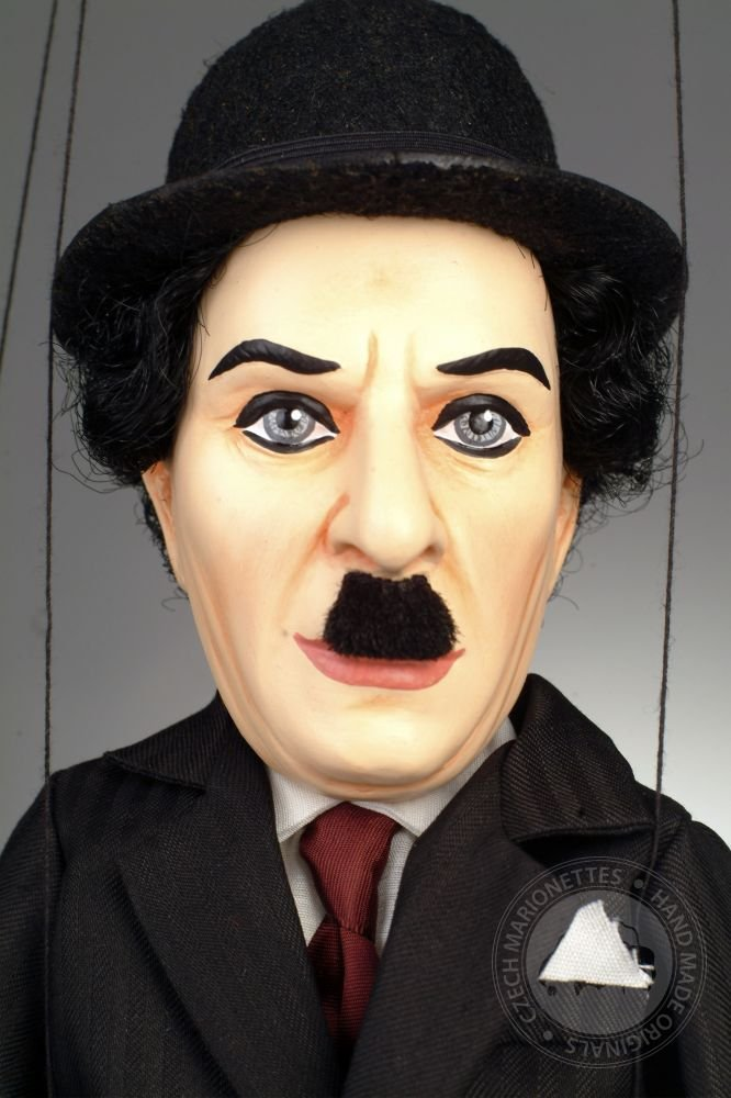 Charlie Chaplin Czech Marionette Puppet
