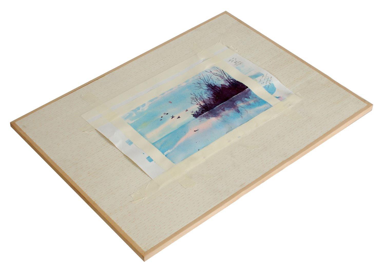 Artcoe - Tavola da disegno leggera, in pino, dimensioni: ca. 43 x 33 cm 40001001