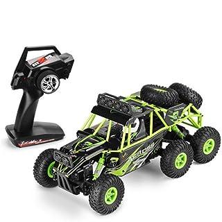 1:18 Azionamento a 6 ruote Auto da arrampicata 2.4G Telecomando Big Foot Buggy Toy RC 1:18 lennonsi
