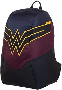 Wonder Woman Backpack Lighted Wonder Woman Bag - Light Up Wonder Woman Accessories DC Backpack - Wonder Woman Gift