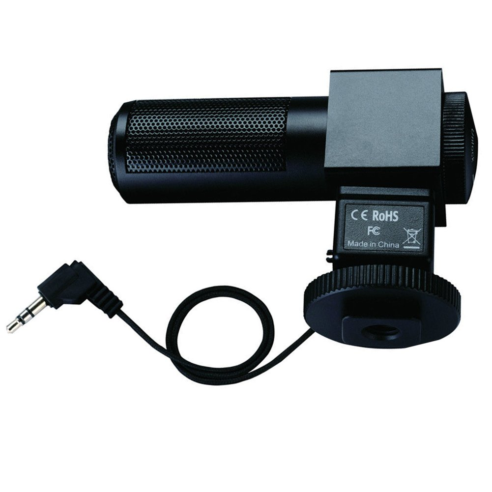 TAKSTAR SGC-698 Photography Interview Recording Microphones MIC 3.5mm Output for Nikon Canon Camera DSLR DV Camcorder by TAKSTAR