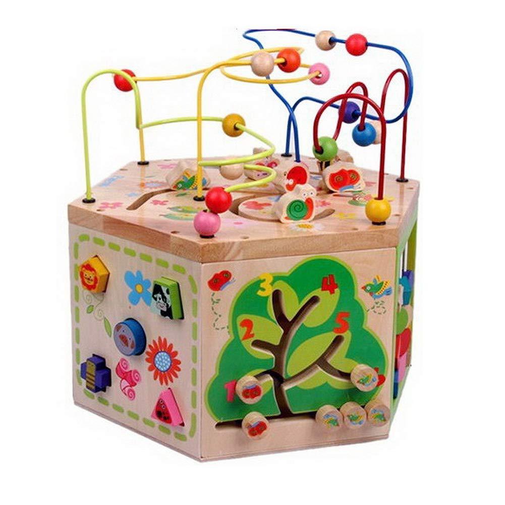 【再入荷】 ビーズの迷路木製のおもちゃ/ビーズ迷路/ラビリンスビーズ/ビーズ迷路ベビーおもちゃ/ルーピングビーズコースター/赤ちゃん/パズルおもちゃ 1631 B07L8YZ9SP B07L8YZ9SP, サダミツチョウ:f7dacbc0 --- a0267596.xsph.ru