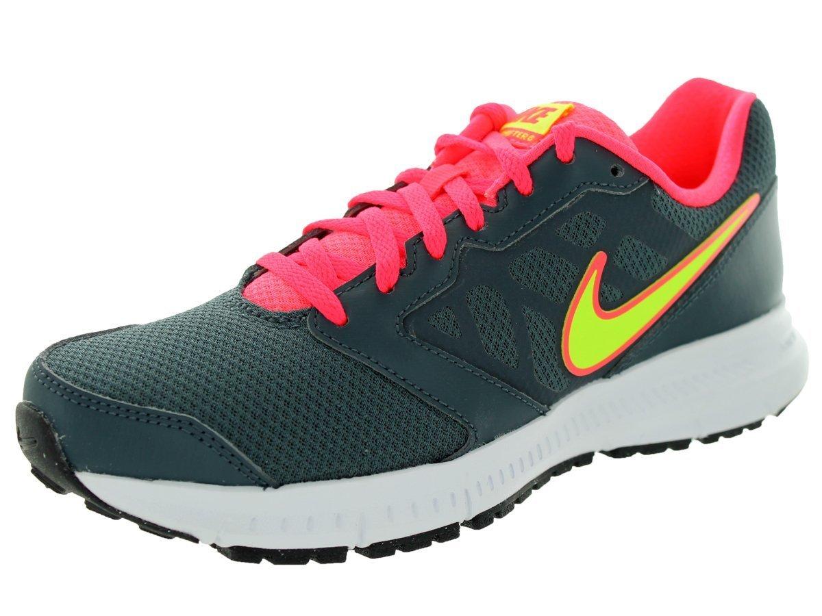 Compre Popular Nike Mujer Downshifter 6 Zapatos para correr Dk Magnet Gris/Volt/Hypr Punch 184VF