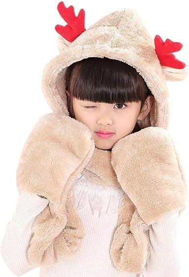 Pumpkin Patch Baby Girls Knit Deer Hat