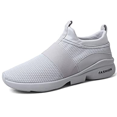 cd94d30f993bb Amazon.com: Men's Running Sneakers Casual Breathable Walking Sports ...